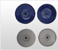 勺轮芯盘灰色和蓝色调深手轮